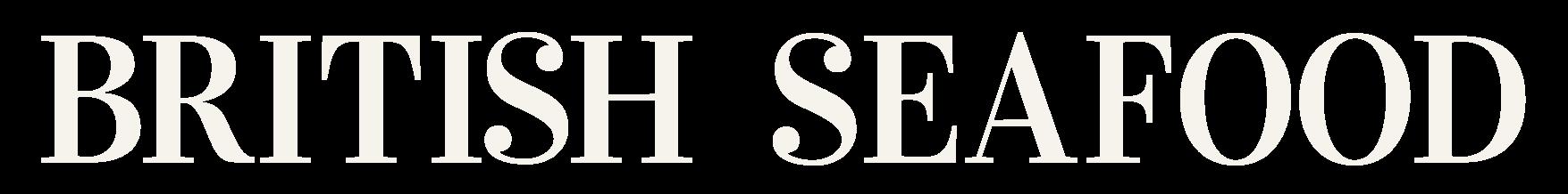 White British Seafood Union Jack Logo